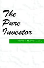 Cover of: The Pure Investor | McEwen