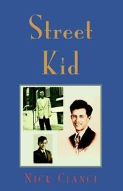 Cover of: Street Kid | Nick Cianci