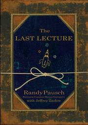 Cover of: The Last Lecture
