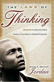Cover of: The Laws of Thinking by Bishop E. Bernard Jordan