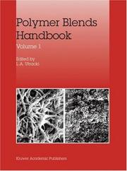Cover of: Polymer Blends Handbook, Volume 1 and Volume 2 | Leszek A. Utracki