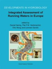 Cover of: Integrated Assessment of Running Waters in Europe (Developments in Hydrobiology) |