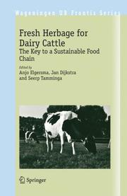 Cover of: Fresh Herbage for Dairy Cattle |