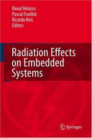 Cover of: Radiation Effects on Embedded Systems |