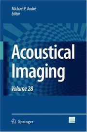 Cover of: Acoustical Imaging / Volume 28 (Acoustical Imaging)