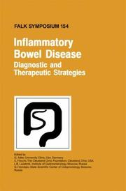 Cover of: Inflammatory Bowel Disease - Diagnostic and Therapeutic Strategies (Falk Symposium) |