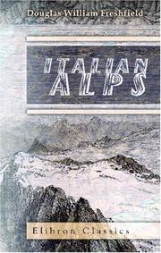 Cover of: Italian Alps
