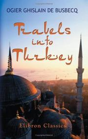 Cover of: Travels into Turkey
