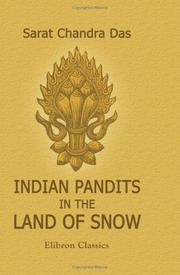 Cover of: Indian pandits in the land of snow