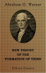 Cover of: New Theory of the Formation of Veins