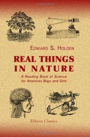 Cover of: Real things in nature