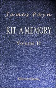 Cover of: Kit: a Memory