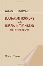 Cover of: Bulgarian Horrors and Russia in Turkistan