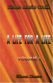 Cover of: A Life for a Life