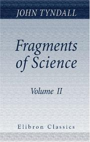 Cover of: Fragments of Science