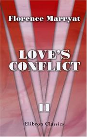 Cover of: Love\'s Conflict
