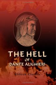 Cover of: The Hell Of Dante Alighieri