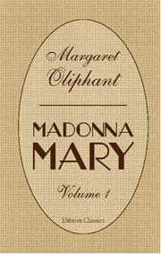 Cover of: Madonna Mary | Margaret Oliphant