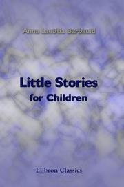 Cover of: Little Stories for Children