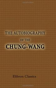 Cover of: The Autobiography of the Chung-Wang
