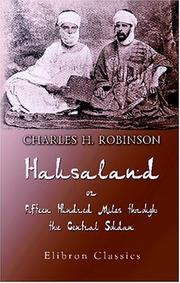 Cover of: Hausaland, or, Fifteen Hundred Miles through the Central Soudan