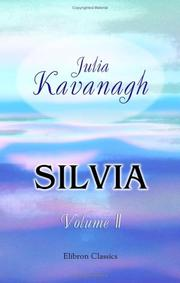 Cover of: Silvia | Julia Kavanagh