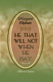 Cover of: He that will not when He may