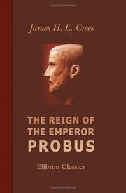 Cover of: The Reign of the Emperor Probus