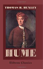 Hume by Thomas Henry Huxley