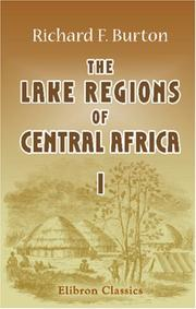 Cover of: The Lake Regions of Central Africa