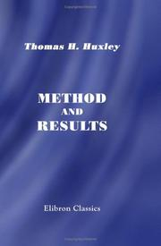 Cover of: Method and results