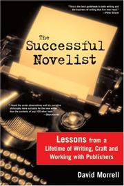 Cover of: The Successful Novelist | David Morrell