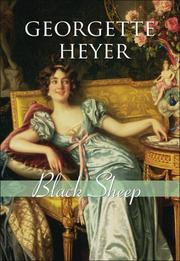 Cover of: Black Sheep | Georgette Heyer