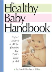Cover of: The Healthy Baby Handbook