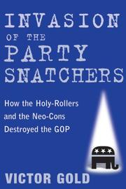 Cover of: Invasion of the Party Snatchers