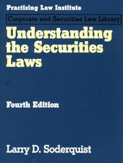 Cover of: Understanding the securities laws