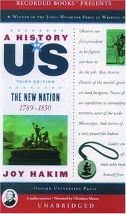 Cover of: A History of US: Book 4
