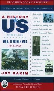 Cover of: A History of US: Book 6