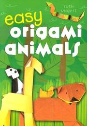 Cover of: Easy Origami Animals