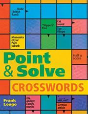 Cover of: Point & Solve Crosswords