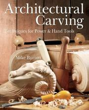 Cover of: Architectural Carving