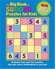 Cover of: The Big Book of Sudoku Puzzles for Kids