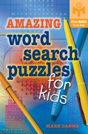Cover of: Amazing Word Search Puzzles for Kids