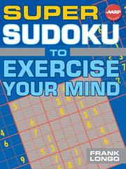 Cover of: Super Sudoku to Exercise Your Mind (AARP)