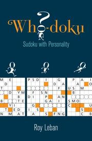Cover of: Who-doku | Roy Leban