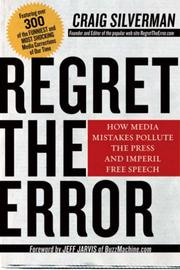 Cover of: Regret the error