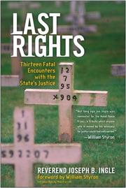 Cover of: Last Rights | Joseph B. Ingle
