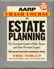 Cover of: AARP Crash Course in Estate Planning