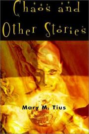 Cover of: Chaos and Other Stories | Mary M. Tius