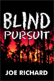 Cover of: Blind Pursuit
